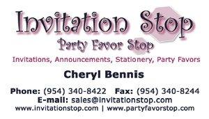 Invitation Stop
