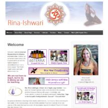 Rina Ishwari Web Site