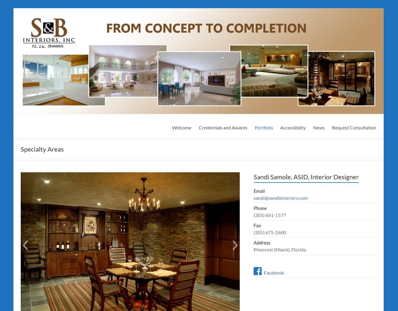 S & B Interiors, Inc.