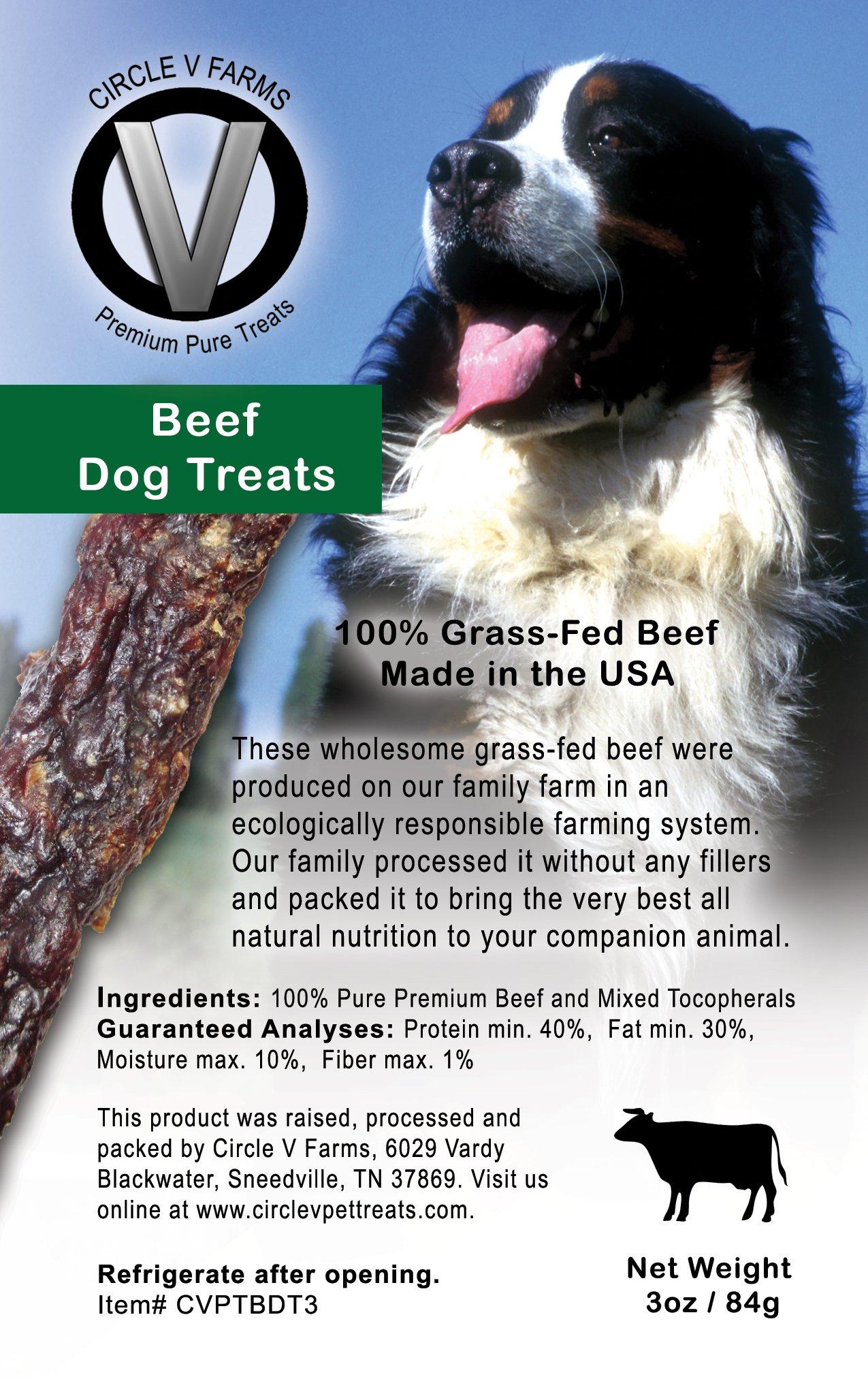Circle V Beef Dog Treats