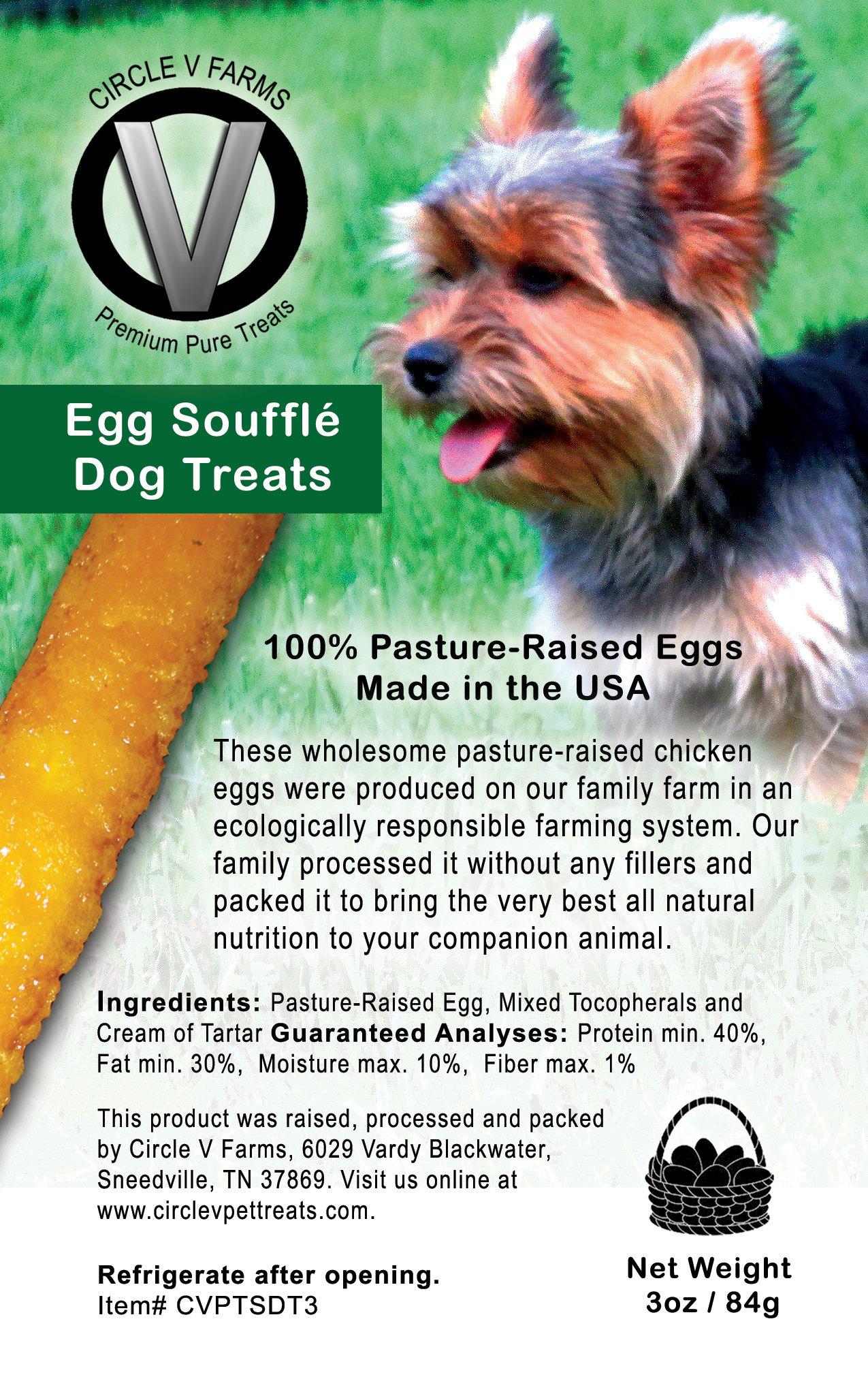 Circle V Egg Souffle Dog Treats