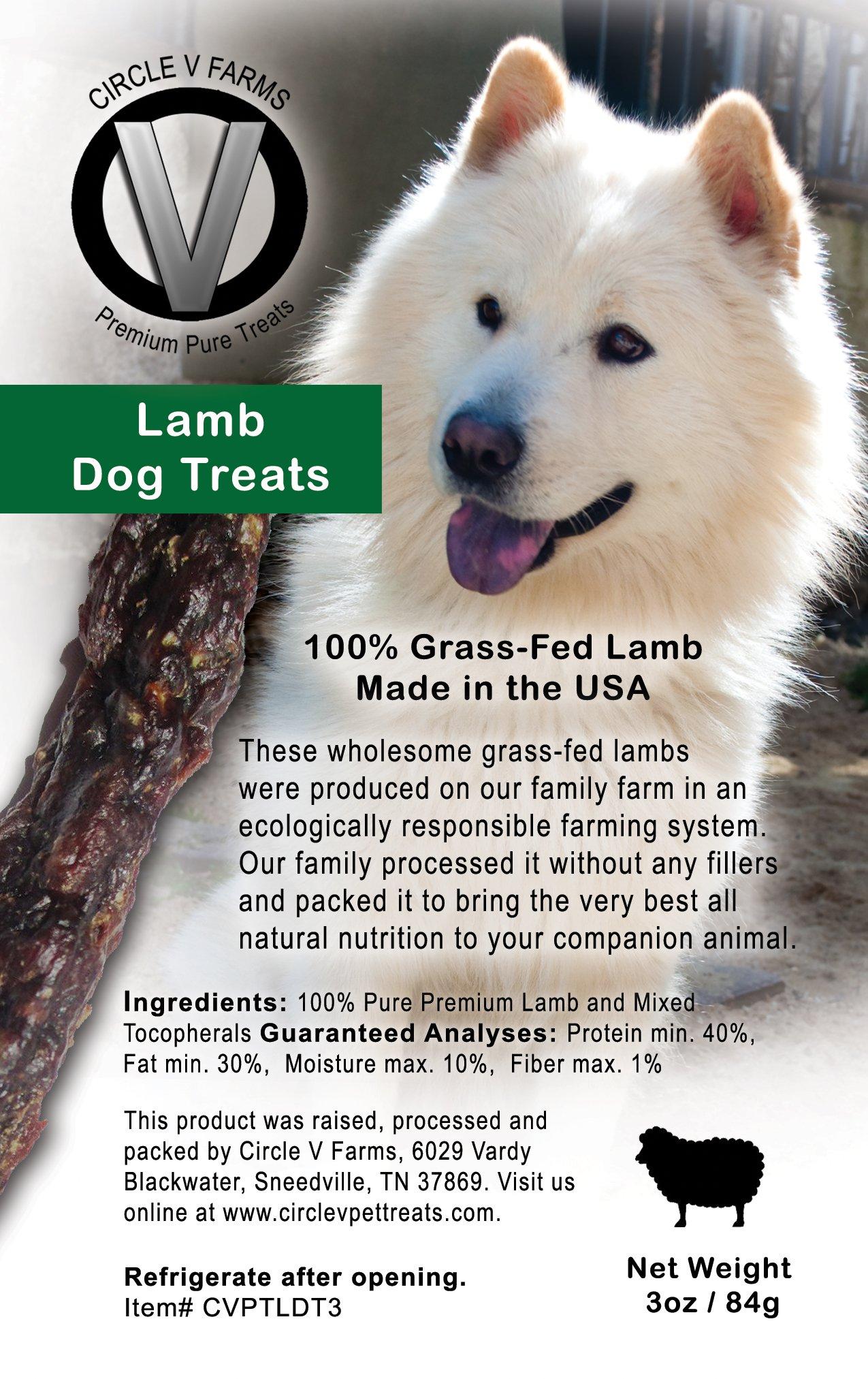 Circle V Lamb Dog Treats