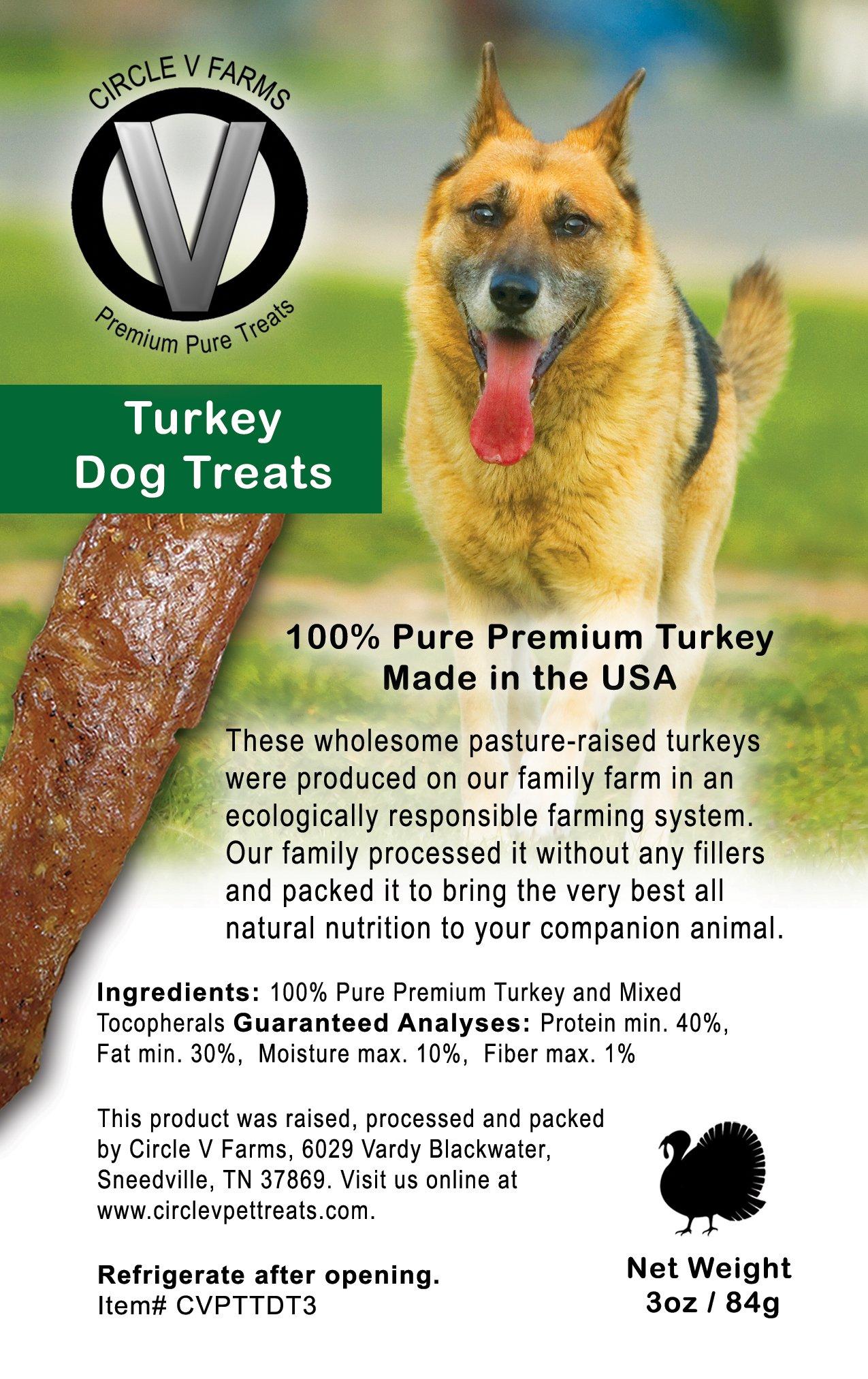 Circle V Turkey Dog Treats