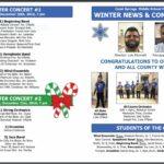 CSMS Music Winter Newsletter & Program, outside