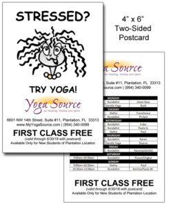 Yoga Source Postcard
