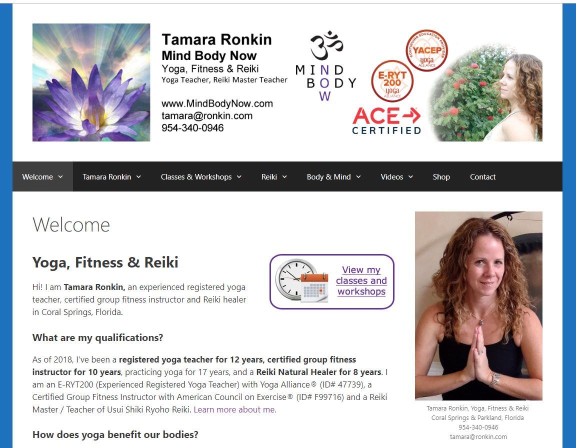 Mind Body Now with Tamara Ronkin
