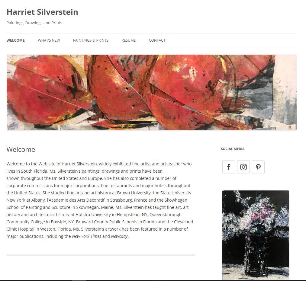 Harriet Silverstein Artist