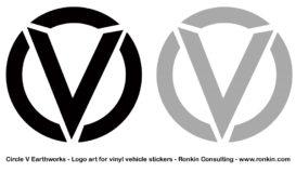 Circle V Logo